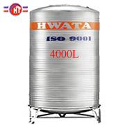 Giá Bồn Nước Inox Hwata 4.000 lít đứng