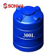 Giá bồn nước nhựa Sơn Hà 300 lít đứng