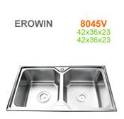 Chậu inox Erowin 8045V