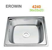 Chậu inox Erowin 4240