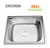 Chậu inox Erowin 4842