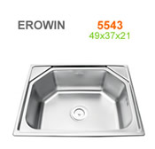Chậu inox Erowin 5543