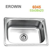 Chậu inox Erowin 6045