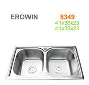 Chậu inox Erowin 8349