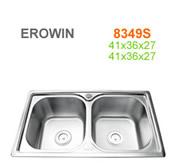 Chậu inox Erowin 8349S