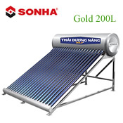 Máy năng lượng mặt trời Thái Dương Năng Gold 200L