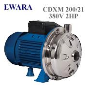 Bơm Đầu tròn cánh Inox EWARA CDXM 200/21 (2Hp)