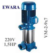 Bơm trục đứng EWARA VM 2-9x7 (1,5Hp)