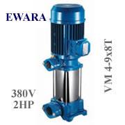 Bơm trục đứng EWARA VM 4-9x8T (3Hp)