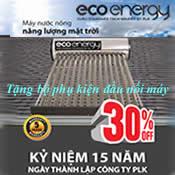 Máy năng lượng mặt trời 220 lít Eco Energy