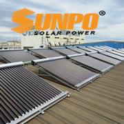Máy năng lượng mặt trời Sunpo 2000 lít