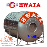 Bồn Hwata 3000 lít nằm