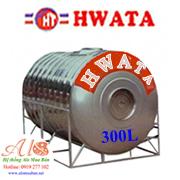 Giá Bồn nước inox Hwata 300 lít ngang