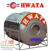 Bồn nước Hwata 3500L ngang