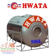 Giá Bồn Nước Inox Hwata 500 lít ngang