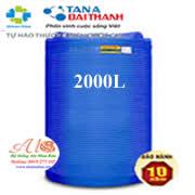 Bồn nhựa Đại Thành 2000L đứng THM