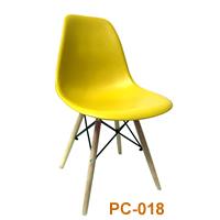 Ghế nhựa PC 018 vàng