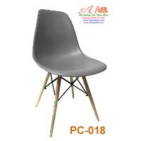 Ghế nhựa PC 018 xám