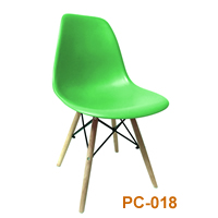 Ghế nhựa PC 018 xanh lá