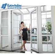 Giá cửa nhựa lỗi thép Profile Eurowin