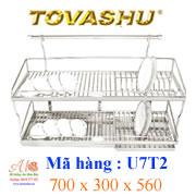 Kệ chén inox Tovashu U7T2