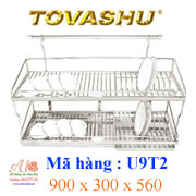 Kệ chén inox Tovashu U9T2