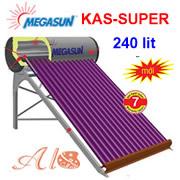 Máy nước nóng năng lượng mặt trời Megasun 240L KAS-SUPER