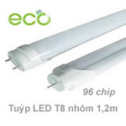 Túyp led T8 nhôm 1.2m 96 chip led