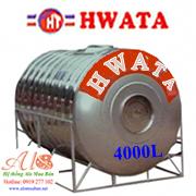 Giá Bồn Nước Inox Hwata 4.000 lít ngang
