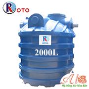 Bồn tự hoại Roto 2000 lít