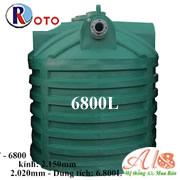 Bồn tự hoại Roto 6800L