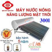Máy năng lượng mặt trời Quán Quân 300 lít