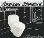 giá bàn cầu American